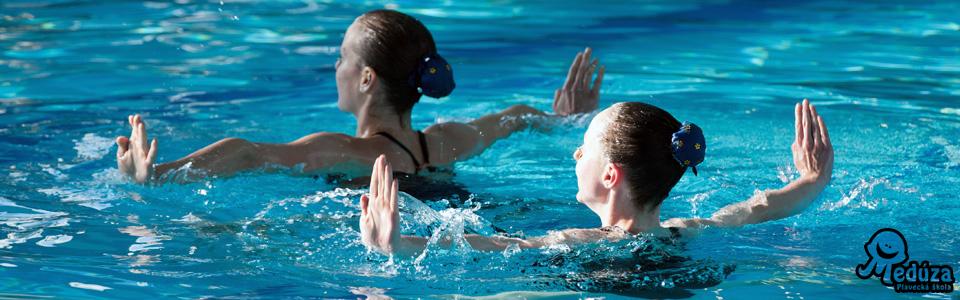 Synchronizované plavání - akvabely
